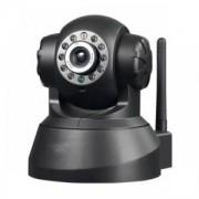 Camera Robô Robot CFTV IP Wi-Fi Infravermelho PanTilt e Controle Via Internet RM383