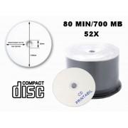 CD PRINTABIL 80MIN/700MB/52X