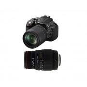 D5300 + 18-105 VR + SIGMA 70-300 DG APO MACRO