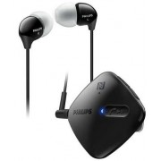 Casti Stereo Philips SHB5100BK, Bluetooth (Negru)