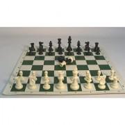 Tournament Men and Mat Chess Set