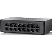 Switch Cisco SF100D-16P, PoE