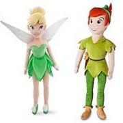 Disney Peter Pan and Tinker Bell 20 Plush Dolls