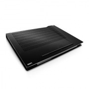 NZXT Technologies 15-Inch to 17-Inch Aluminum Notebook Cooler with two 120MM Adjustable Fans Black (cryo-x60)