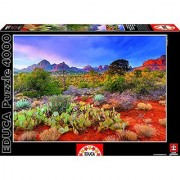Educa Kids Red Rock Arizona at Dusk Puzzle (4000-Piece)