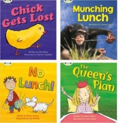 Learn to Read at Home with Phonics Bug: Pack 4 (Pack of 4 Reading Books with 3 Fiction and 1 Non-Fiction) by Jill Atkins