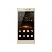 Telefon mobil Huawei Y5 II Dual Sim, 4G, 5'',RAM 1GB, Stocare 8GB, Camera 2MP/8MP, Gold
