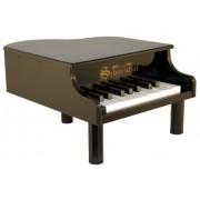 Schoenhut - Mini piano a coda, 18 tasti, colore: nero
