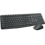 Logitech MK235 Wireless Keyboard and Mouse Combo Grey