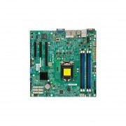 Supermicro X10SLH-F Server Motherboard - Intel C226 Chipset - Socket H3 LGA-1150 - Micro ATX - 1 x Processor Support - 32 GB DDR3 SDRAM Maximum RAM - Serial ATA/600 RAID Supported Controller - On-board Video Chipset - 1 x PCIe x16 Slot - 2 x USB 3&per