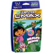 LeapFrog Leapster L-Max Educational Game Dora the Explorer Wildlife Rescue