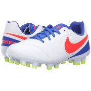 Nike Jr Tiempo Legend VI FG Soccer (ToddlerLittle KidBig Kid) WhiteRacer BlueVoltBright Crimson