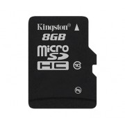 MICRO SD CARD KINGSTON; model: SDC10/8GB; capacitate: 8 GB; clasa: 10; culoare: NEGRU