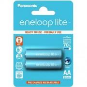 Panasonic 2 x Panasonic Eneloop Lite R6/AA 950mAh BK-4LCCE/2BE (blister)