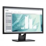 """Монитор Dell E2417H, 23.8""""(60.45cm) IPS панел, FHD, 8ms, 1000:1, 250 cd/m2, Display Port, VGA"""