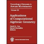 Applications of Computational Algebraic Geometry by David A. Cox