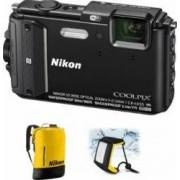 Aparat Foto Digital Nikon COOLPIX AW130 Diving KIT Black