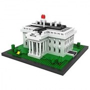 POCO DIVO White House Micro Block Building Set (1170 pcs)