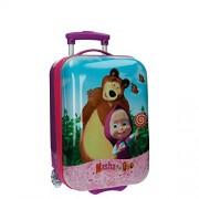 Masha y el Oso 4731151 In The Wood Equipaje Infantil, 26 Litros, Color Rosa