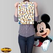 Guestbook pentru botez cu Mickey Mouse (30 persoane)