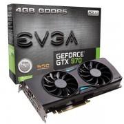 EVGA GEFORCE GTX 970 SSC ACX 2.0 4GB GDDR5 DVI/HDMI/3X DP GRAFIKKARTE