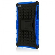 Empire MPERO IMPACT SR Series Kickstand Case for Sony Xperia Z2 - Retail Packaging - Blue