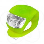 Prednja 2 LED bljeskalica Xplorer zelena