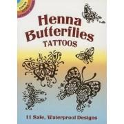 Henna Butterflies Tattoos by Anna Pomaska