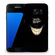 Snoogg We're all Mad here Designer Protective Back Case Cover For Samsung Galaxy S7