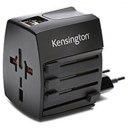 Kensington International Travel Adapter with 2.4 Amp Dual USB Ports (K33998WW)