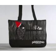 The Adventures of Pinocchio: Organic Cotton Tote Bag by Carlo Collodi
