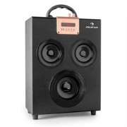 ONEconcept Central Park 2.1 Bluetooth Speaker USB SD mobil (CS6-Central-Park-Bla)