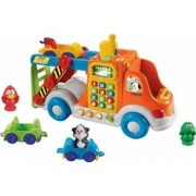 Jucarie bebelusi Vtech Pull and Learn Car Carrier