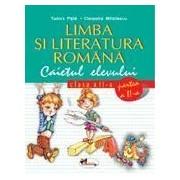 Limba si literatura romana, clasa a II-a. Caietul elevului. Partea a II-a