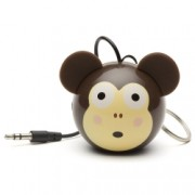 KitSound Mini Buddy Monkey Speaker - boxa portabila cu jack 3.5mm