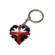 Con diseño de corazones de oso de peluche y diseño de motivos de Londres Selección de fútbol de Inglaterra de regalo del Reino Unido juego de memoria RAM con forma de bloque de la bandera de Reino Unido clavija de conexión de decorativo con forma de coraz