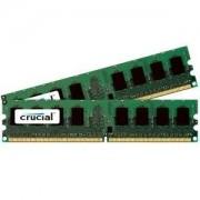 Crucial CL6 Mémoire RAM DDR2 2 Go (2 x 1 Go) PC2-6400 800 MHz