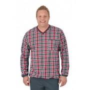 Trigema Herren Schlafanzug-Oberteil Größe: XXXL Material: 100 % Baumwolle, Ringgarn supergekämmt Farbe: anthrazit