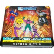 DC Universe Classics Exclusive Action Figure 5-Pack Gotham City 5 (Superman, Batman, Lex Luthor, Catwoman and Two-Face)