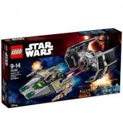 Lego Star Wars(TM) - Vader's TIE Advanced vs. A-Wing Starfighter