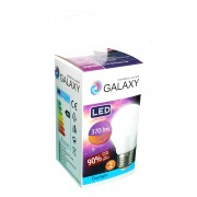 Bec LED G45 Galaxy tip sferic 5W, 6500K, E27, 370lm, lumina rece
