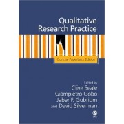 Qualitative Research Practice by Clive Seale