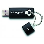 Integral INFD16GBSPLBK Memoria USB portatile