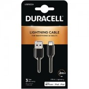 Duracell Apple Lightning Sync & Charge Cable 2M (USB5022A)