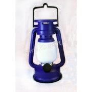 Lampa retro, in forma de felinar cu incarcare solara