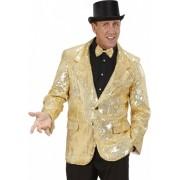 Colbert pailletten goud 50 (m)