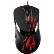Mouse Gaming Sharkoon FireGlider Optical 3000 DPI USB Negru-Rosu