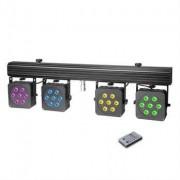 Cameo Multi PAR 3 28x8 W QUAD Colour Anlage+Case
