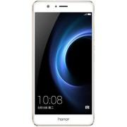 "Telefon Mobil Huawei Honor V8, Procesor Octa-Core 2.3GHz / 1.8GHz, IPS-NEO LCD Capacitive touchscreen 5.7"", 4GB RAM, 64GB Flash, Dual 12MP, Wi-Fi, 4G, Android (Auriu) + Cartela SIM Orange PrePay, 6 euro credit, 4 GB internet 4G, 2,000 minute nationale si"