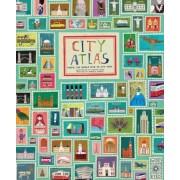 City Atlas: Travel the World with 30 City Maps, Hardcover